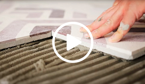 Instalation of Granito tiles and slabs - video